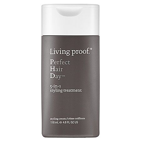 [jan] Living Proof Perfect Hair Day™ 5-in-1 Styling Treatment ($26 for 4oz.) sephora.com | An oil- and silicone-free styling treatment that provides volume, smoothness, conditioning, strength, and polish in one easy step. #sephora #livingproofhair