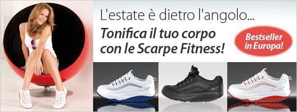 L'estate è dietro l'angolo, tonifica il tuo corpo con le Scarpe Fitness, Bestseller in Europa!  Un passo dopo l'altro, raggiungi il benessere e detti la moda!  Aumentare la sensazione di benessere? Facile come... indossare un paio di scarpe!
