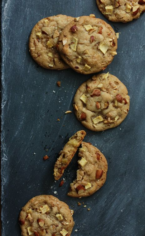 Caramel Apple Cookies | A perfect shipping cookie--stays moist and doesn't easily break