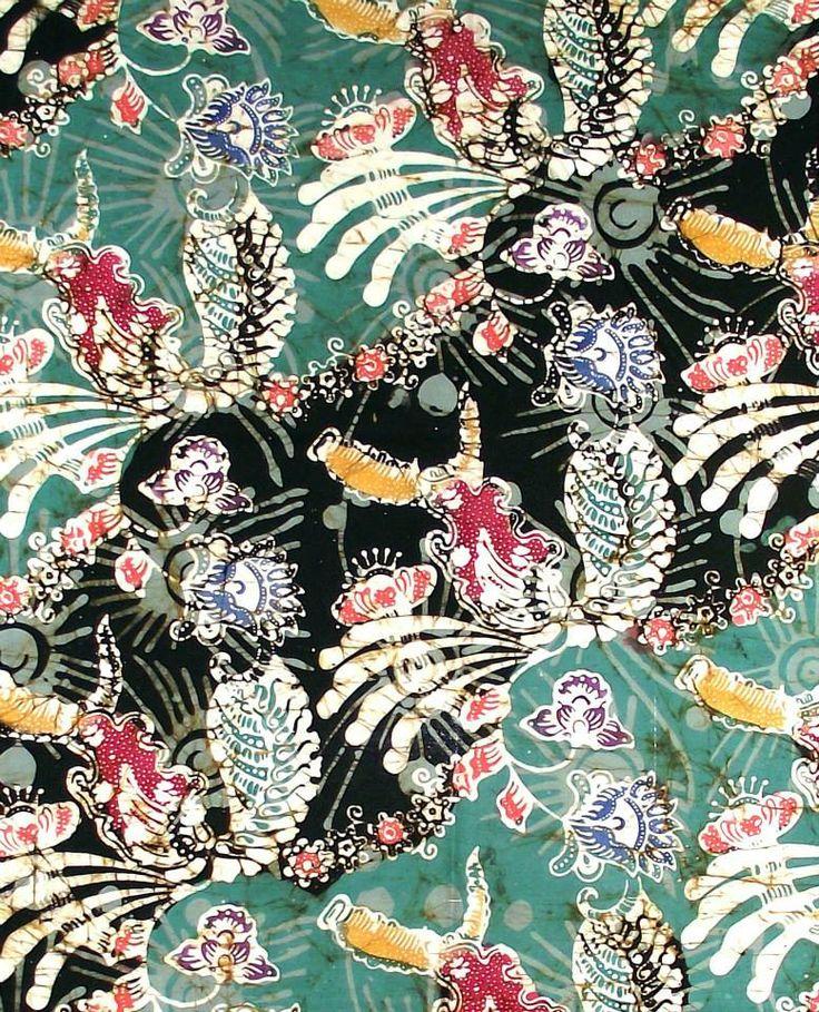 Medono hand-pressed Batik