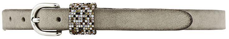 11202 narrow belt, 2 cm, sand.
