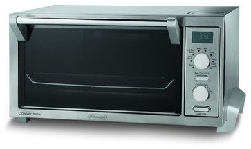 Stainless Steel Digital Convection Oven with Dehydration Kit contemporary-toaster-ovens