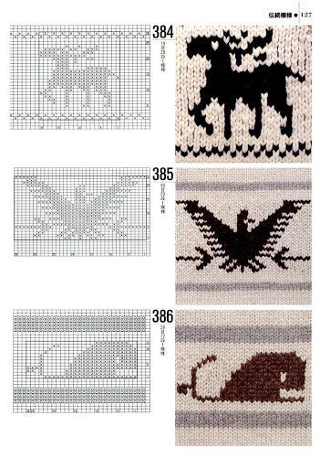knit patterns funny deer)