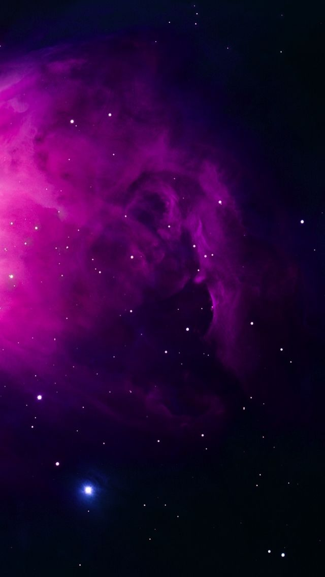 Purple Orion Nebula #iPhone #5s #Wallpaper