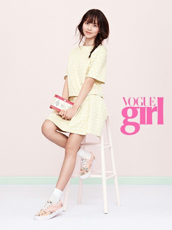 Kim So Hyun - Vogue Girl Magazine April Issue '15