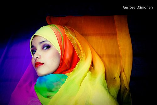 The colours of our faith bloom in so many places. So many different colours of Islam