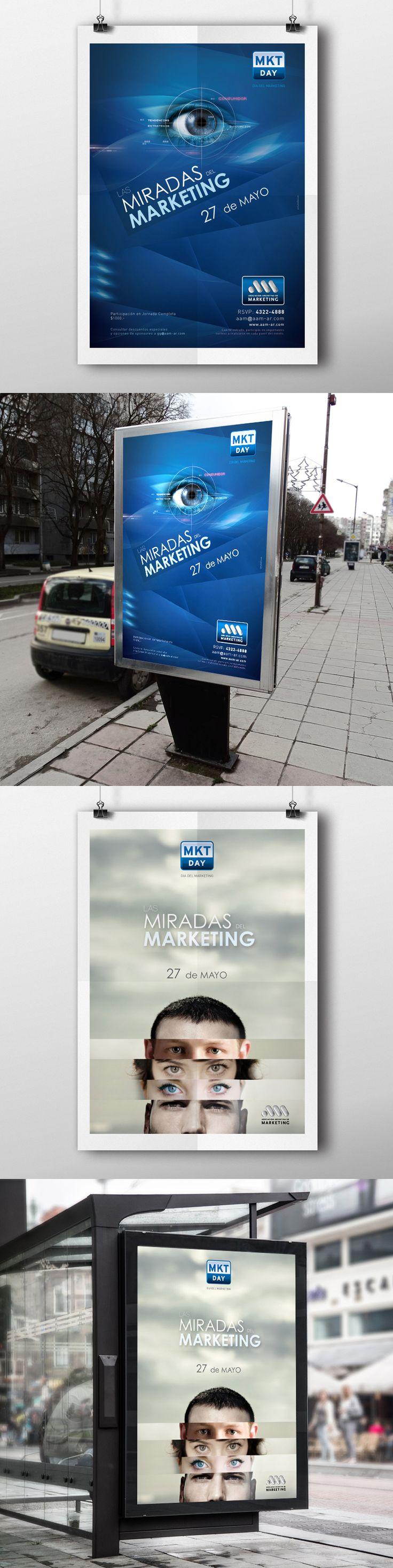 GRÁFICA VÍA PÚBLICA // El MKT Day es una jornada de conferencias donde participan los máximos exponentes de marketing del país y en las que se exponen distintos temas sobre las nuevas tendencias del marketing.