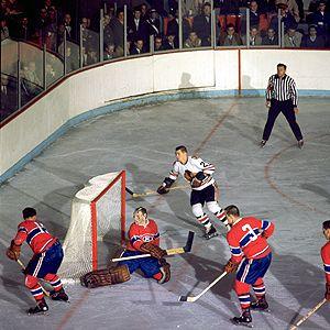 Charles « Charlie » Hodge (né le 28 juillet 1933 à Lachine au Québec) est un gardien de but professionnel retraité de hockey sur glace ayant joué pour les Canadiens de Montréal, les Canucks de Vancouver et les Seals d'Oakland dans la Ligue nationale de hockey (LNH).