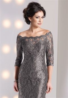 Social Occasions By Mon Cheri Mother of the Bride Dresses - Love the elegance of this one!