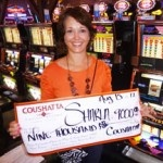 Congratulations to Sharla from Texas––on August 15 she won $9,000 playing a Triple Double Strike slot game!