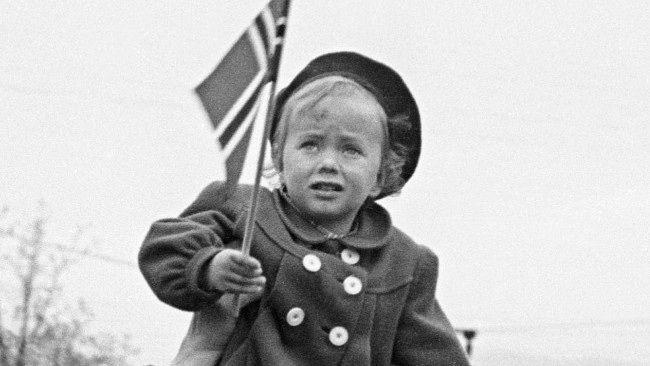 17. mai 1949 (Foto: Børretzen, Sverre A./SCANPIX)