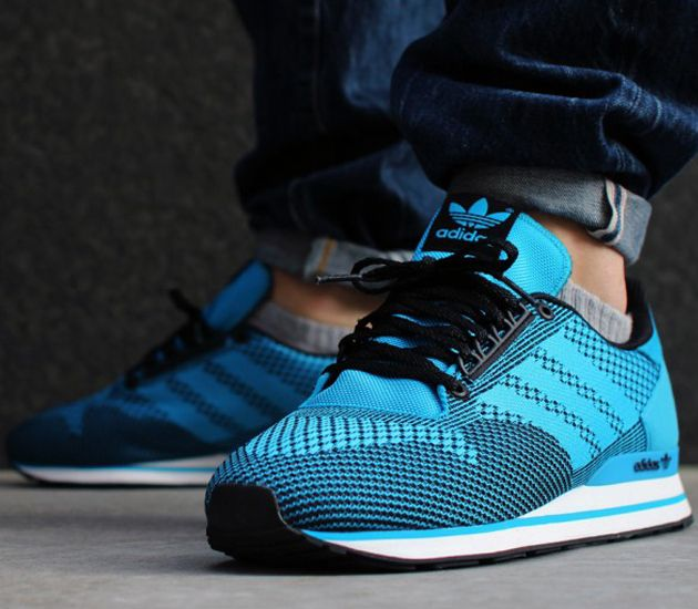 Love these joints right here.... adidas ZX 500 Weave-Solar Blue-Black
