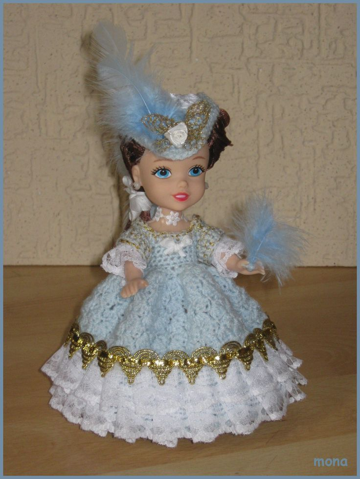 doll 22 - model of the Baroque period