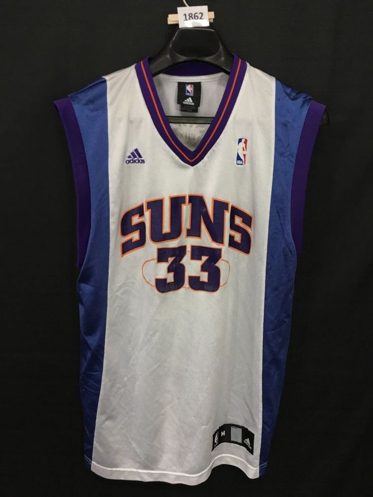 MENS MEDIUM GRANT HILL #33 PHOENIX SUNS NBA ADIDAS JERSEY #adidas #PhoenixSuns