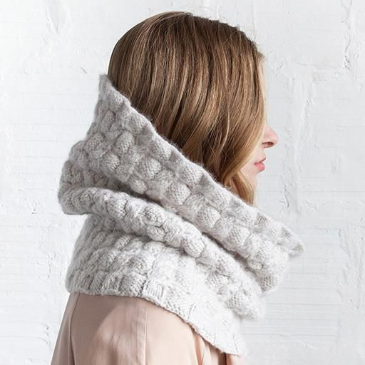 Woolfolk FW16 Arkade Scarf and Cowl Pattern – Knit Purl
