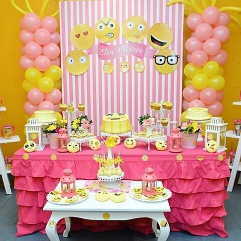 21 best party images on pinterest desserts emojis and gifts for Decoration emoji