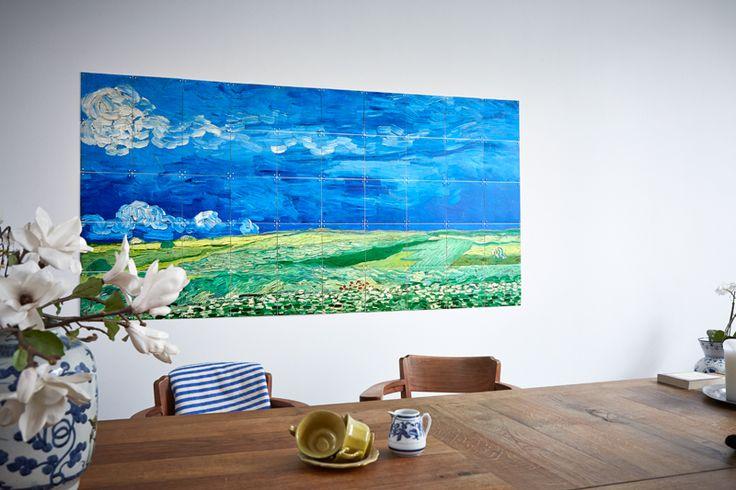 Van Gogh Museum image bank - Wheatfield under thunderclouds
