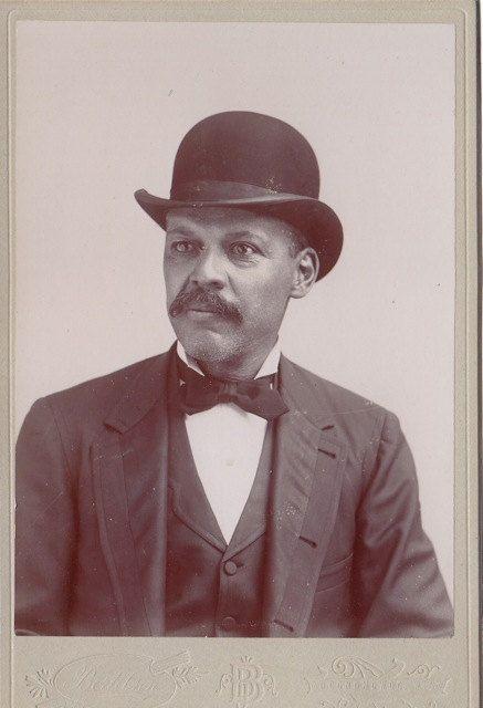 African American Gentleman Victorian Portrait by EphemeraObscura, $35.00