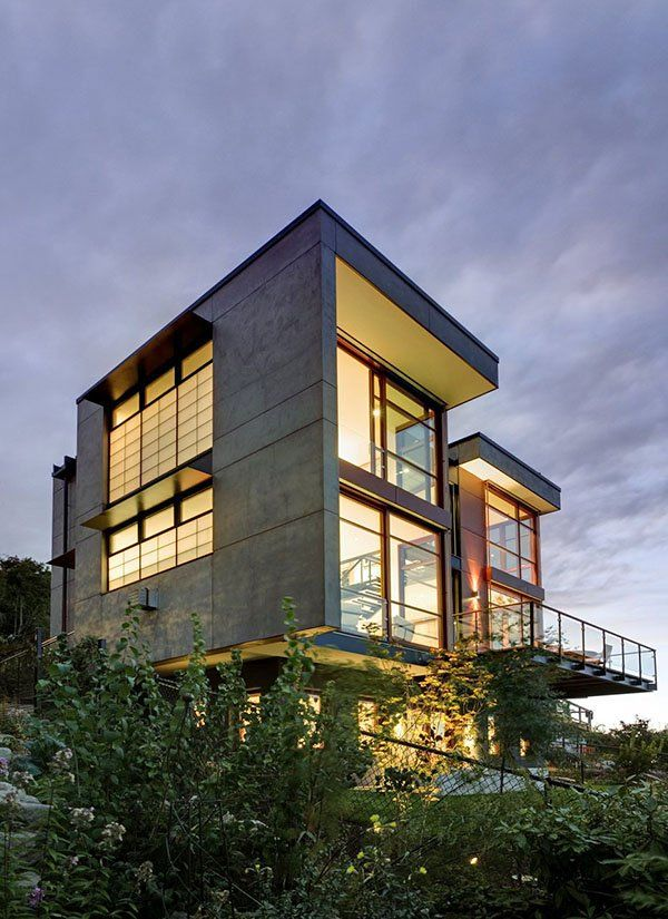 Capitol Hill Residence integrating sustainable design designed by Balance Associates Architects