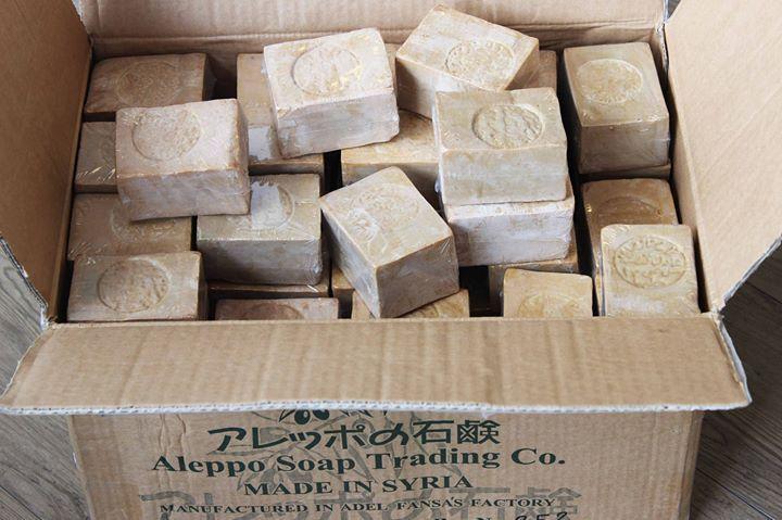 アレッポの石鹸ノーマルタイプ お待たせいたしました 在庫切れだった人気のアレッポの石鹸が大量入荷しました price:630tax - http://ift.tt/1HQJd81