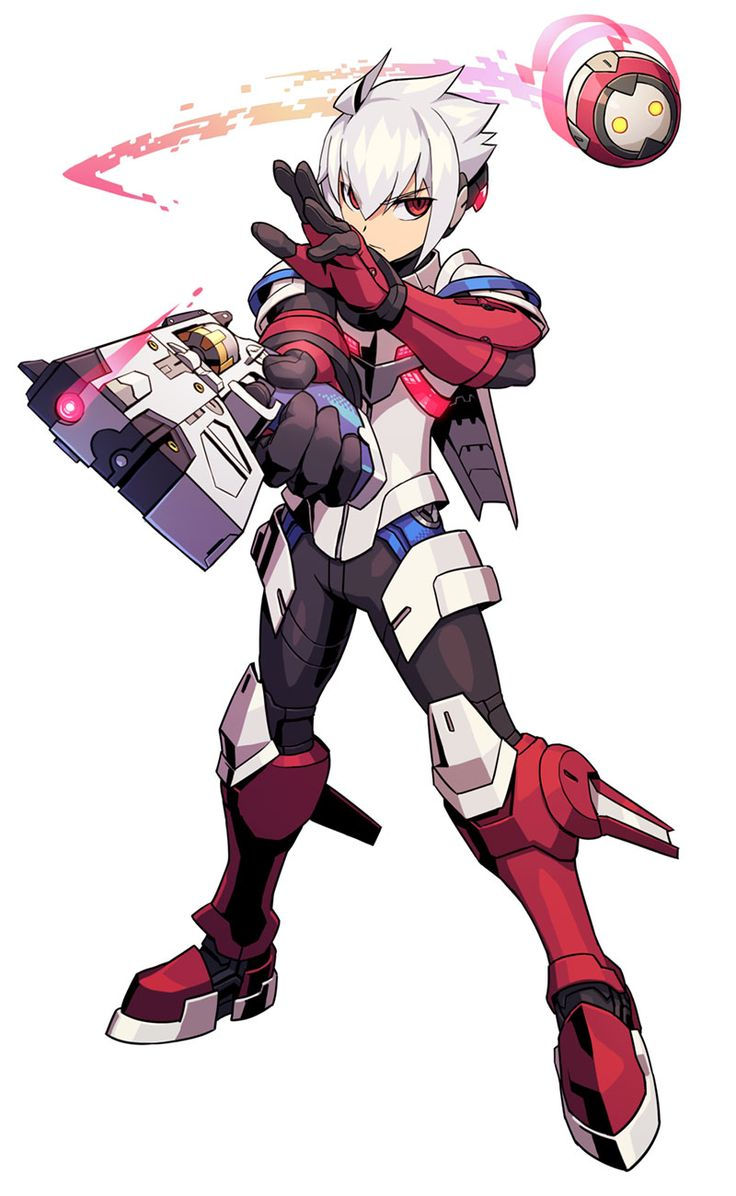 Copen from Azure Striker Gunvolt 2