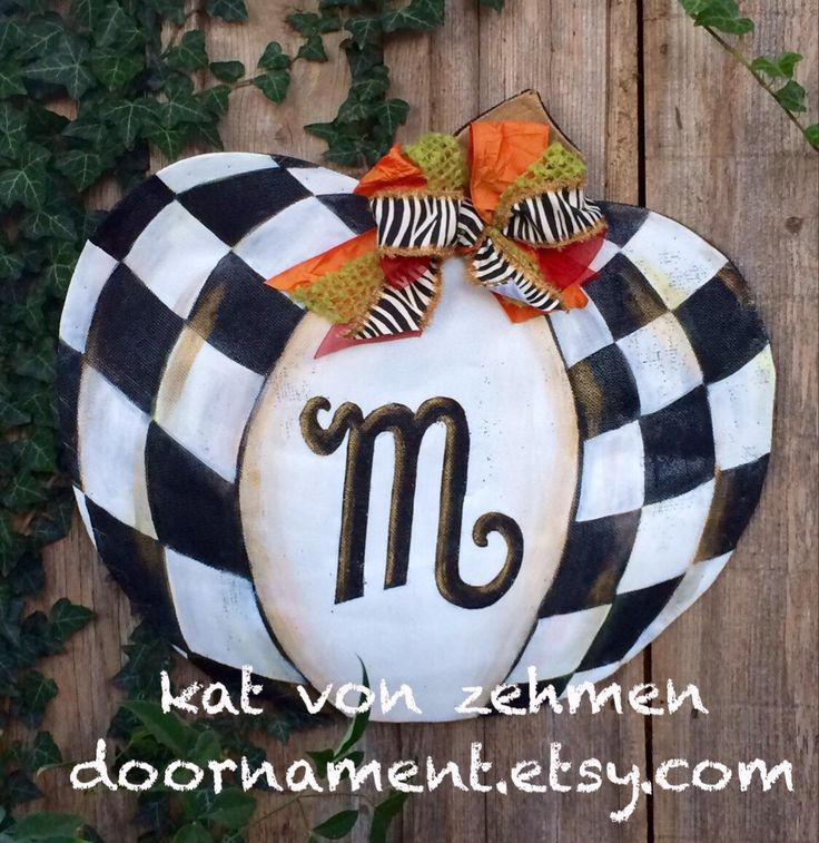 Thanksgiving Door Hanger, Screen Wire Mackenzie Childs Inspired Pumpkin Door Hanger, Fall Door Hanger,  Thanksgiving Door Hanger by doornament on Etsy https://www.etsy.com/listing/243030568/thanksgiving-door-hanger-screen-wire
