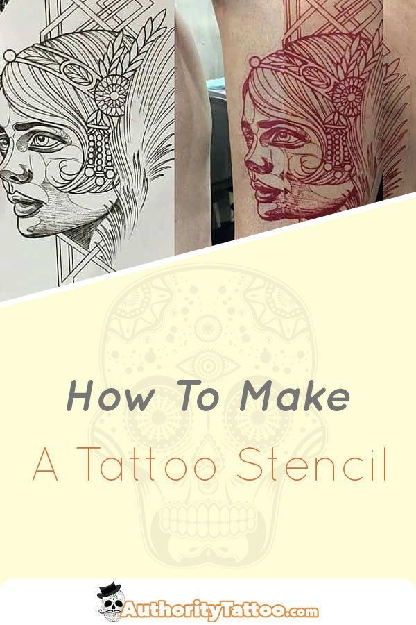 A Tattoo Stencil Is Used To Accurately Transfer A Design From Paper To Your Skin Making A Tattoo Ste Tattoo Stencils Tattoo Stencil Paper Make Your Own Tattoo