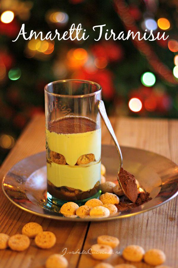 Amaretti Tiramisu | Isabela Cuisine | Desserts | Pinterest