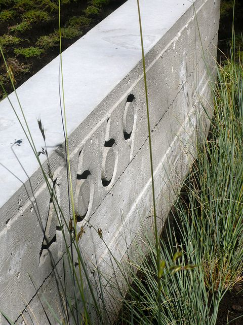 board form concrete wall by considered design, via Flickr