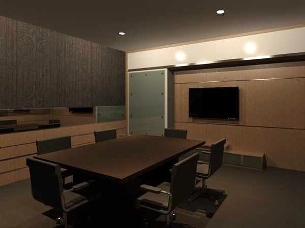 ARADES LIVING - FURNITURE & INTERIOR: Meeting Room Kantor New Safira Residence