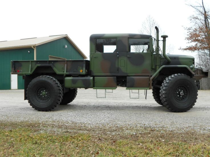 1971 AM General M35A2 Custom Crew Cab..used to make them at a plant here in South Bend,IN.