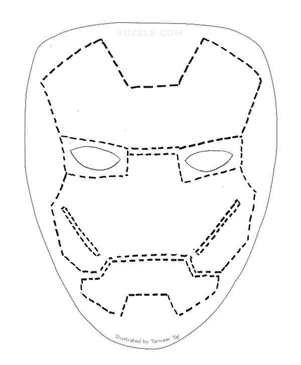 iron man face mask template - 17 best images about birthday ideas on pinterest