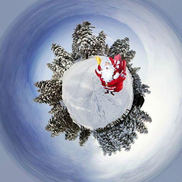< My little planets > Christmas kafası  ❄