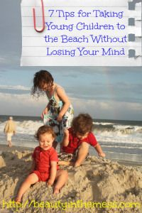 Excellent tips to remember when taking children to the beach for vacation. Especially young ones.
