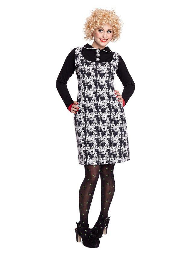Margot kjole KIT TIPTOE no 744 | dansk design med kant