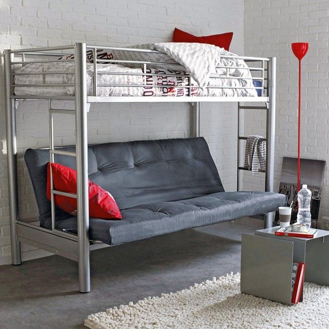 les 20 meilleures id es de la cat gorie lit en hauteur sur pinterest lits lev s lit. Black Bedroom Furniture Sets. Home Design Ideas
