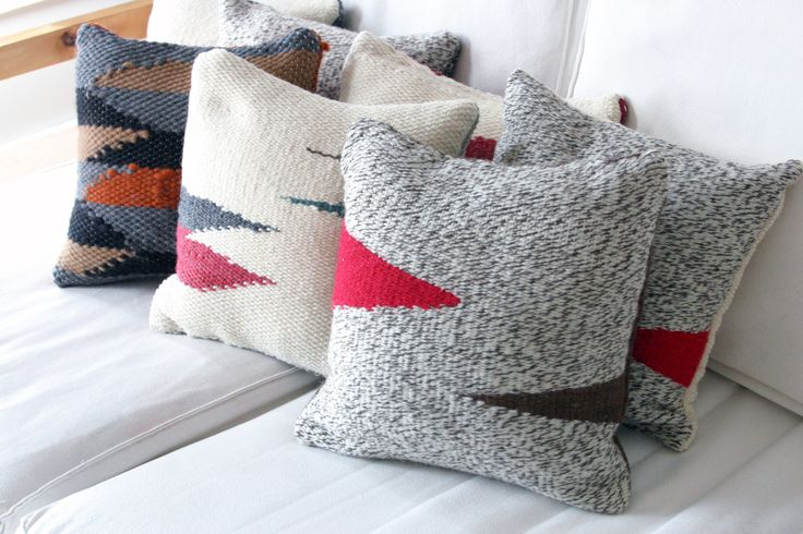 Herron Clothier | A Mano Gris pillows