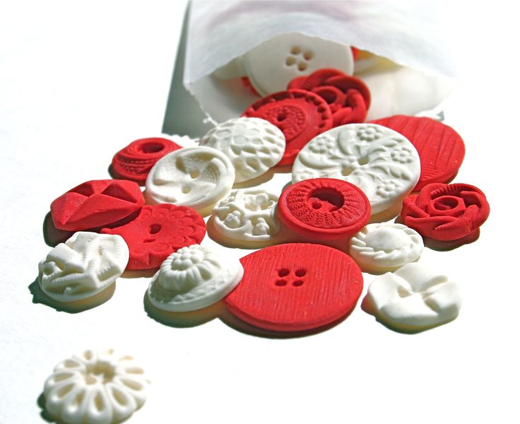 Andie's Specialty Sweets: Peppermint Candy Buttons, 50 Piece Box Set