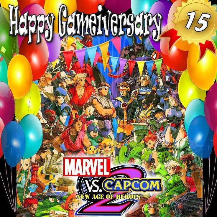 #Capcom took #PS2 for a ride 15 years ago today. Happy #Gameiversary to #MarvelvsCapcom2 . . #mvc2 #marvelvscapcom #marvel #marvelcomics #spiderman #comics #deadpool #xmen #mcu ##marveluniverse #sebastianstan #superhero #megaman #streetfighter #arcade #fighter #retrogaming #retrogames #retro #retrogamer #gamersunite #retrogamelovers #videogames #games #gamer #gaming