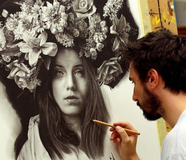A beleza da arte realista de Emanuele Dascanio