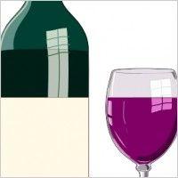 Bottiglia Di Vino Pregiato clip art