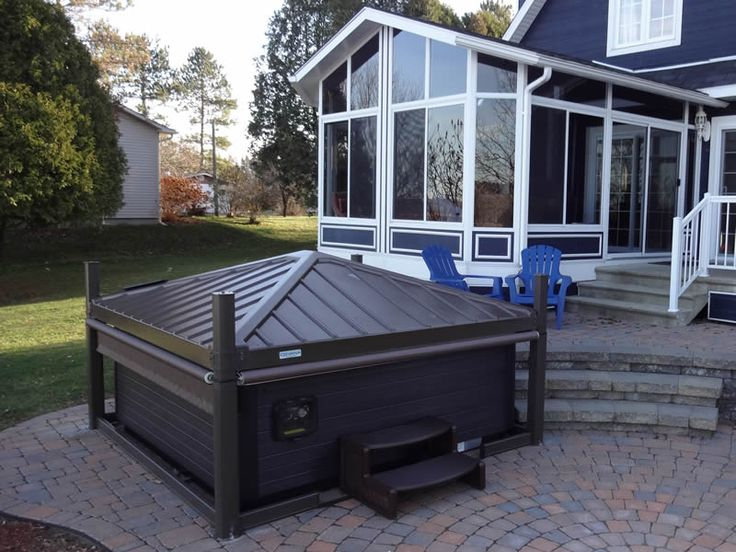 These Smashing Backyard Ideas Are Hot And Happening: 25+ Best Ideas About Hot Tubs Landscaping On Pinterest