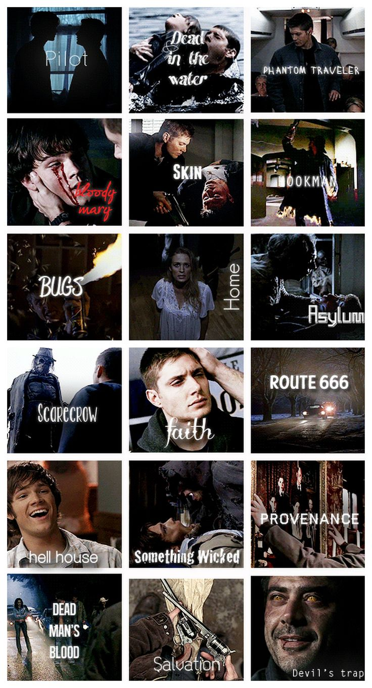 """Season 1 - Gif per episode gifset (I just kind of ignore """"Bugs"""" and """"Route 666"""" from this season haha)"""