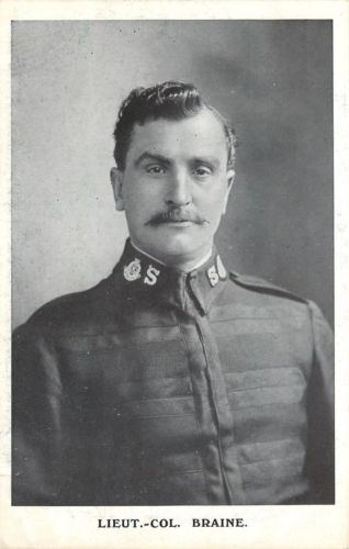 Salvation-Army-Lieut-Col-Braine-B-amp-W-Picture-In-S-A-Uniform-England