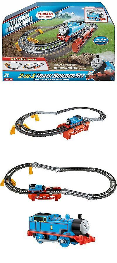 Train Sets 113519: Fisher-Price Thomas The Train - Trackmaster 2-In-1 Track Builder Set -> BUY IT NOW ONLY: $33.94 on eBay!