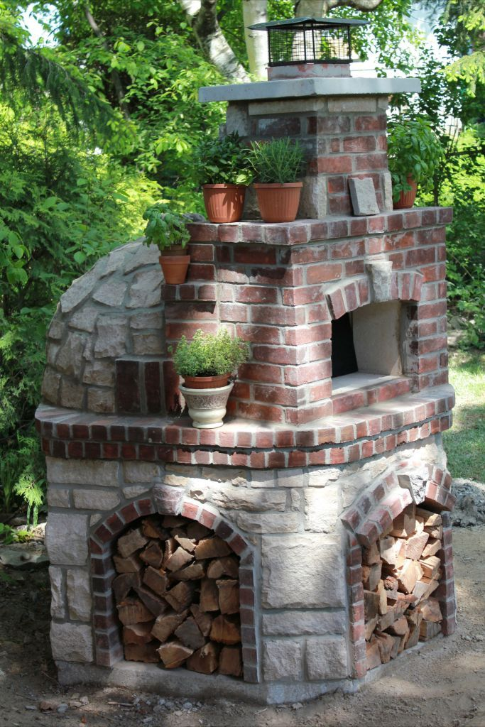 Wood Fired Pizza Oven - slightly artistic