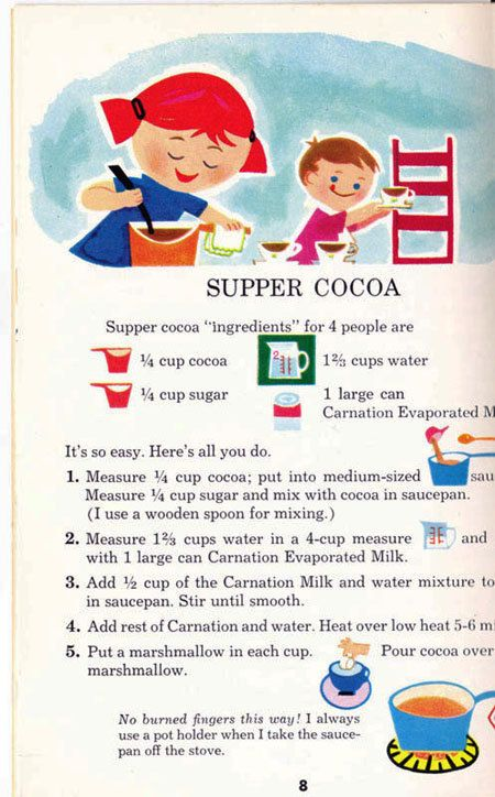 Fun to Cook Book 1967 vintage kids cookbook