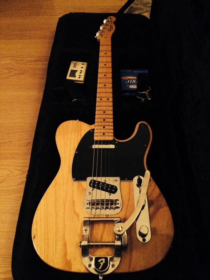 "Everything Is Better With A Bigsby.""Fender Telecaster with Bigsby (Mexican, 60th Anniversary with solid ash body)"" - daviddonoghueGot a guitar, bass, pedal or amp you want to share? You can send it in to GuitarPorn here!"