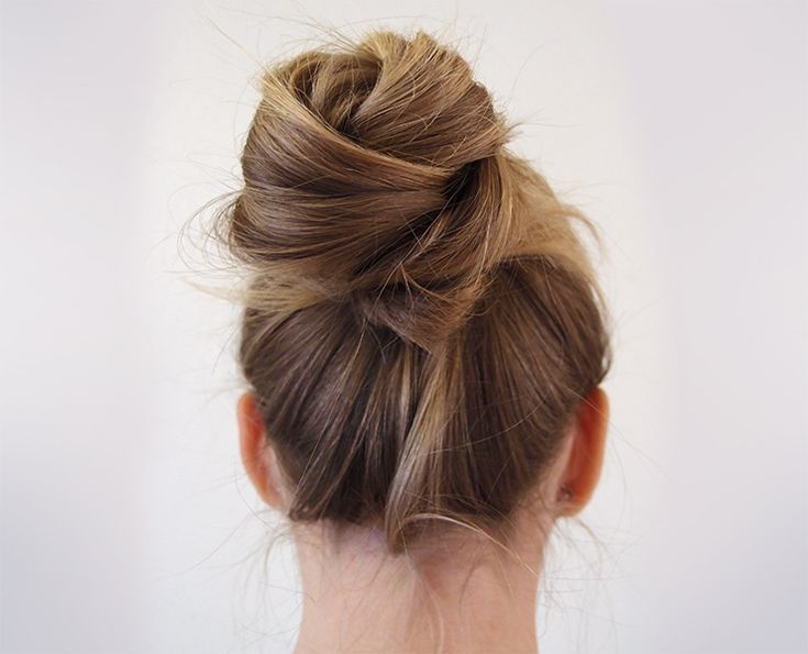 bun of three sections