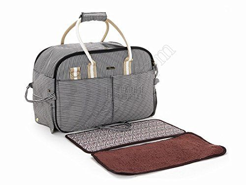 Petsmartpm 180BKL Black and White Stripe Oxford Dog Carrier Purse Pet Tote Bag Puppy Handbag Cat Cage Doggy Pouch >>> Check this awesome product by going to the link at the image.